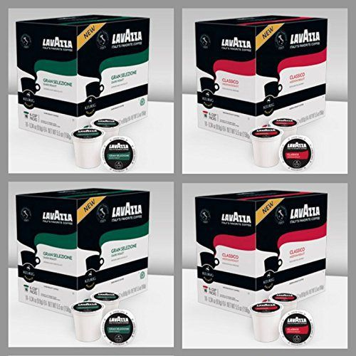 Lavazza Italian Coffee K-Cups (Variety Pack) - http://mygourmetgifts.com/lavazza-italian-coffee-k-cups-variety-pack/