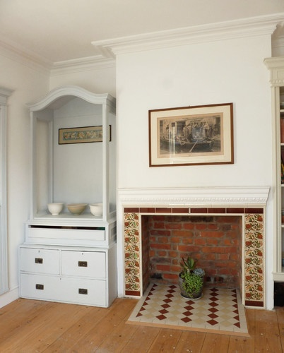 The Dining Room Fireplace Has Been Opened A New Hearth Had To Be Created Meet