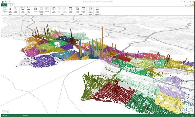 "Microsoft News | Microsoft Releases ""Geoflow"" For Excel, A 3D Big ..."
