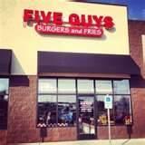 Image detail for -Five Guys restaurant