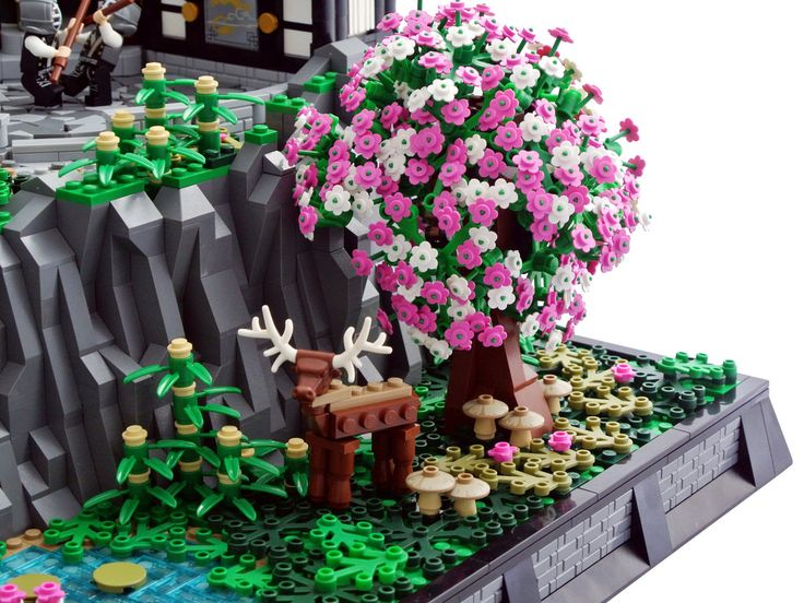 Flickr Lego Tree Amazing Lego Creations Cool Lego Creations