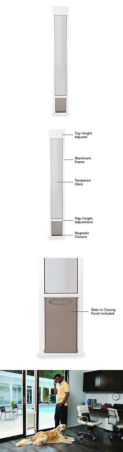 Doors and Flaps 116379: Petsafe Freedom Aluminum Patio Panel Sliding Glass Dog And Cat Door, Adjustable -> BUY IT NOW ONLY: $127.75 on eBay!