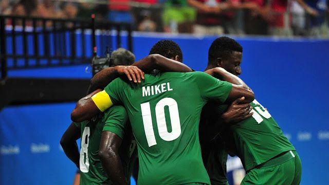 Late Arrival : Nigeria wins Japan 5-4 #NGRJPN    Nigerian Olympic male football team popularly called the Dream Team on Friday beat the Japanese U-23 side 5 goals to 4 in a pulsating encounter which held at the Manaus Stadium in Brazil. The Coach Samson Siasia tutored boys defied all the odds to defeat Japan in the thrilling Group B encounter in Manaus despite arriving in Brazil just hours before their first game in the early hours of Friday. Oghenekaro Etebo was the star of the show scoring…