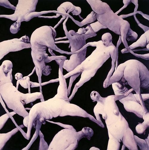 Circus Humanus I, Michael Kvium