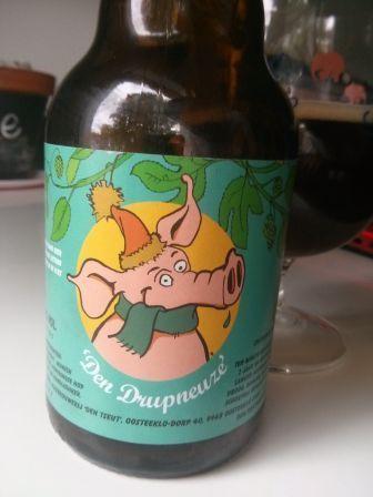 Huisbrouwerij Den Tseut - Den Drupneuze (Strong ale) 8,5% pullo