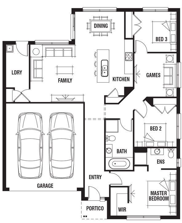 49 by 41 house design bermuda porter davis homes for Porter davis home designs