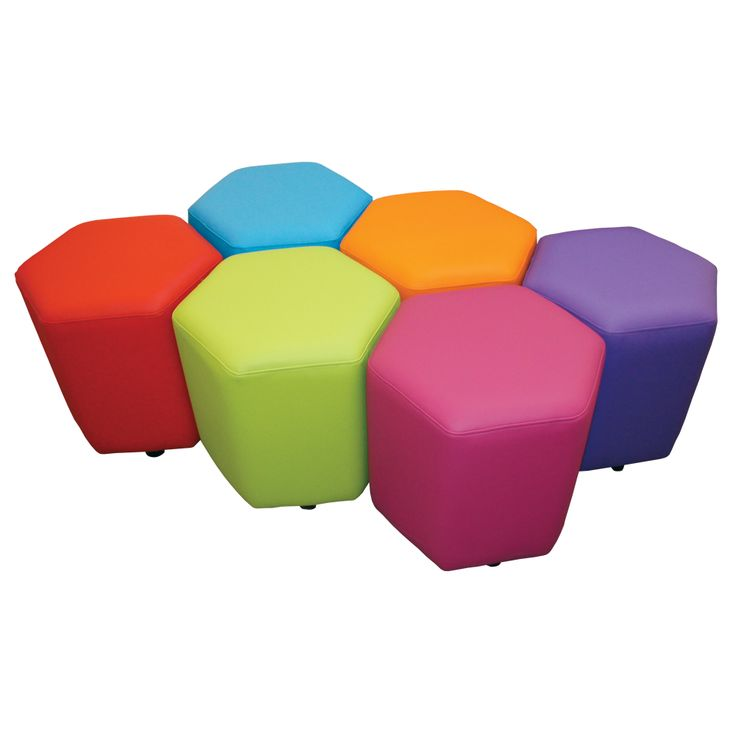 School Library Furniture: Honeycomb Seats