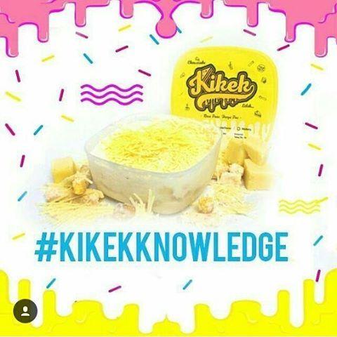 #Kikekknowledge ㅤㅤ ㅤㅤ [ DIET ]  Menurut artikel doktersehat.com, cheesecake bisa jadi menu Diet yang bagus loh! Soalnya, dalam cheesecake terkandung unsur keju yang banyak banget manfaatnya. Keju memiliki kandungan protein yang tinggi namun rendah lemak. Dengan mengkonsumsi 100 gram keju, akan mencukupi 25% kebutuhan protein tubuh.  ㅤㅤ Artinya, Kikek bisa jadi menu utama kamu atau cemilan kamu yang lagi program Diet. So, jangan takut, jangan bingung, Kikek dulu Kakak!! ㅤㅤ ㅤㅤ Penasaran?…