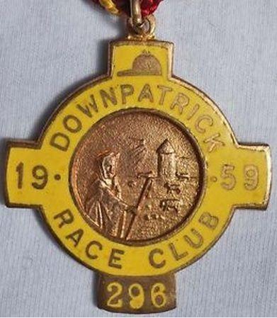 Annual badge - Downpatrick 1959