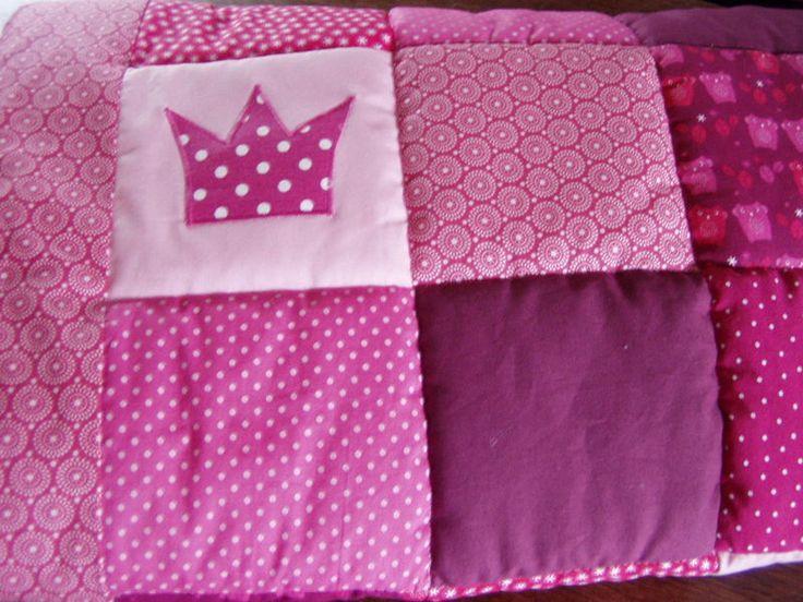 Babydecken - Patchworkdecke - Farbenfroh, Princess - ein Designerstück von FarbenFroh56 bei DaWanda