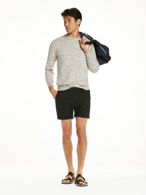 Cotton-Linen Pullover