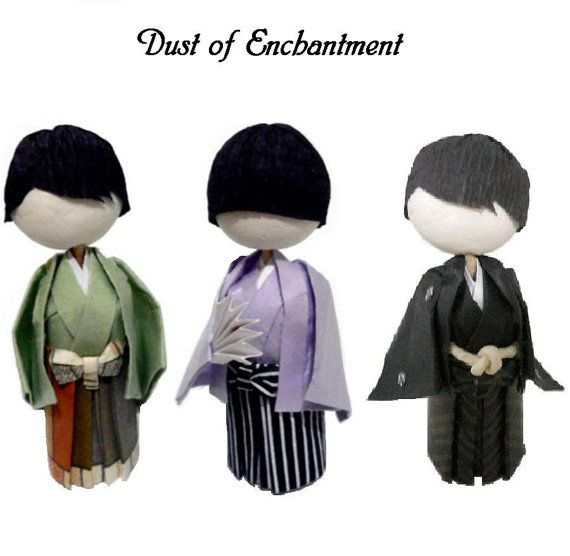 Japanese Boy Doll Tutorial for Formal or Casual Traditional Kimono