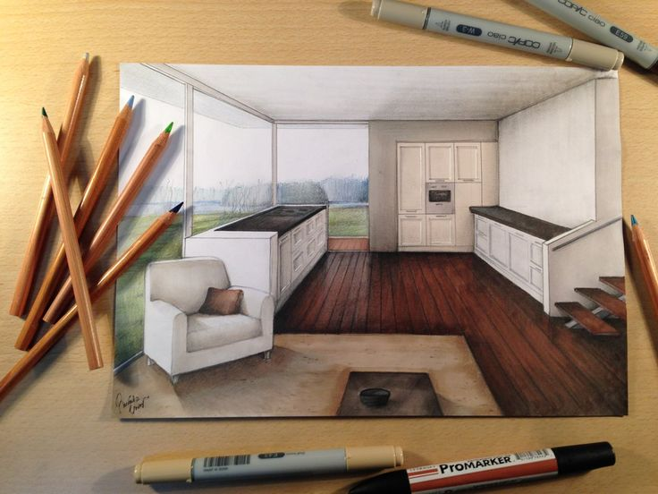 Best Interior Architecture Drawing Ideas On Pinterest