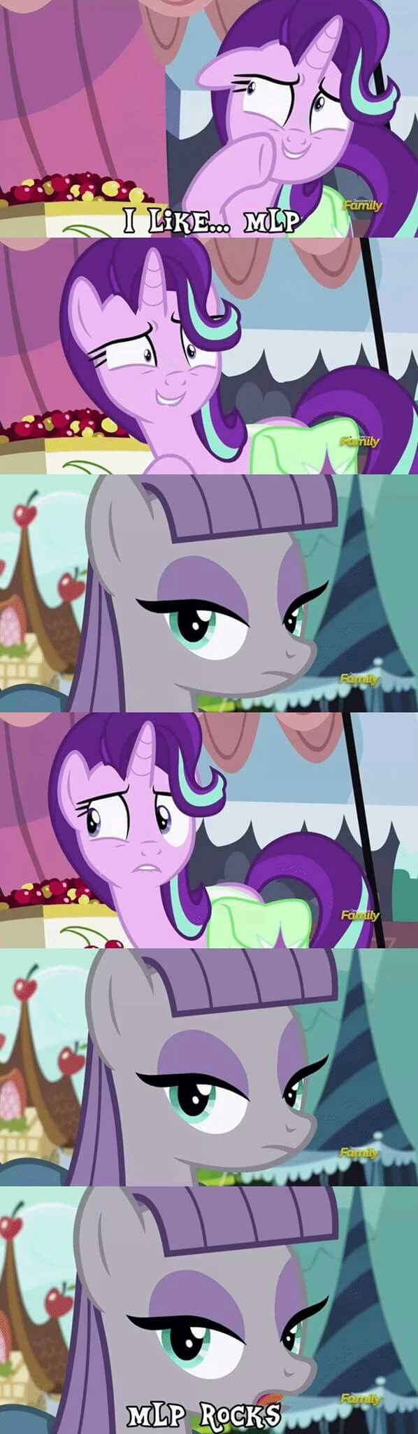 To those that are scared to confess mlp rocks and to fine someone that loves them too