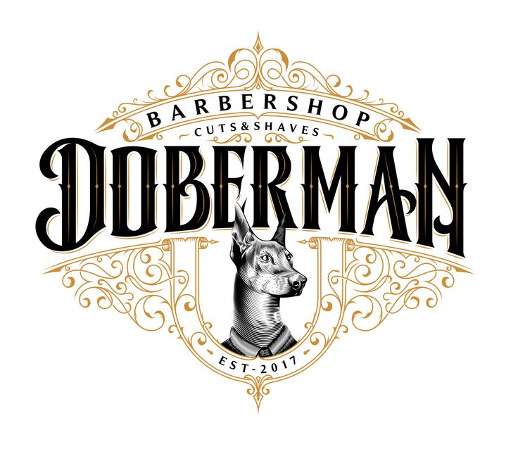 I illustrated this lettering for Doberman Barbería, which takes up the essence from the vintage barber shops for gentlemen. The handcrafted graphics are inspired by the classic style with a modern touch, basic to create a unique visual experience.