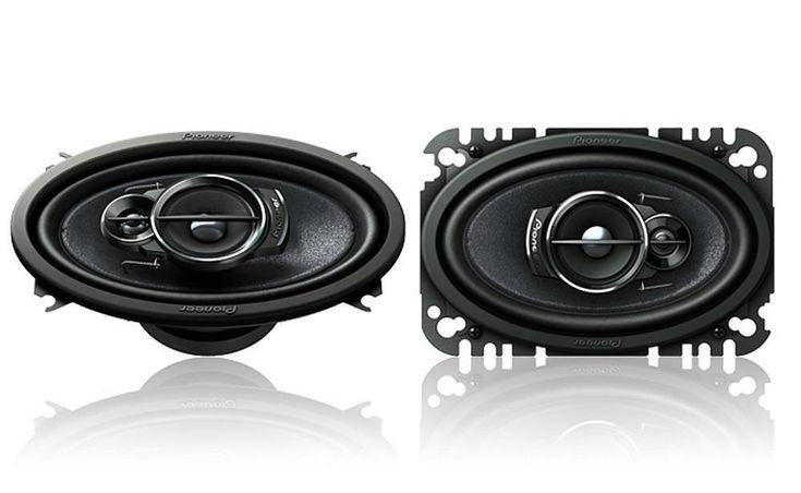 "Pioneer TS-A4676R 200 W Max 4"" x 6"" 3-Way Car Audio Speakers #Pioneer"
