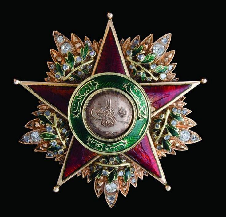 Order of Charity (Nişan-ı Şefkat) (Ottoman Empire) – First Class star (most…
