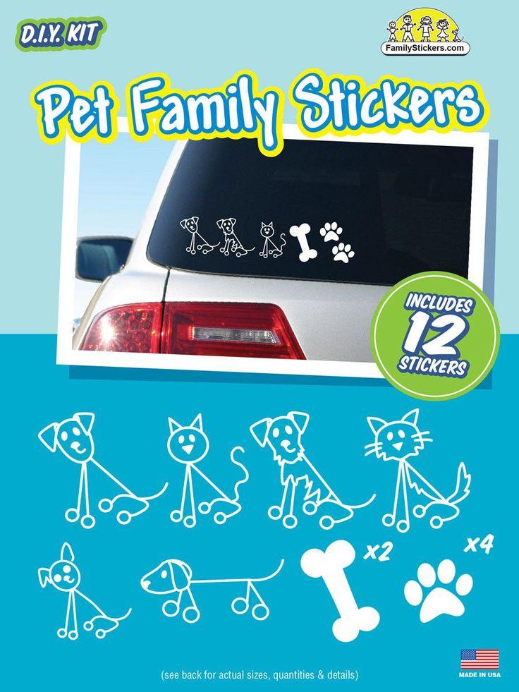 Pet Family Stickers - Value Kit