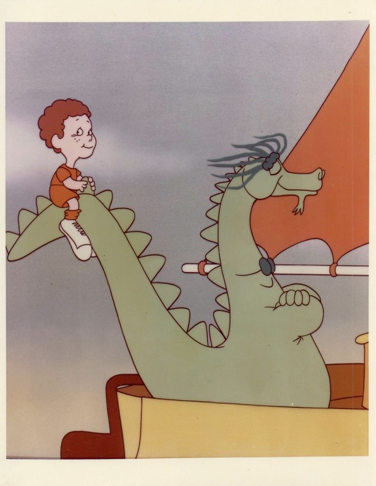 Puff The Magic Dragon CBS Television Network 8x10 Color Photograph | eBay