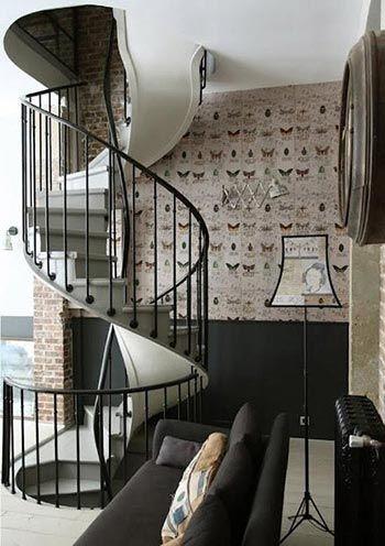 Las 25 mejores ideas sobre escaleras de caracol precios - Escaleras metalicas plegables ...