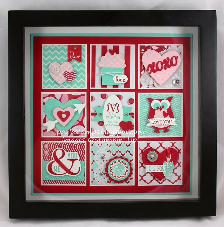 Lots of Love Buffet Sneak Peek, Paula Wright; punches and die cuts, home decor piece