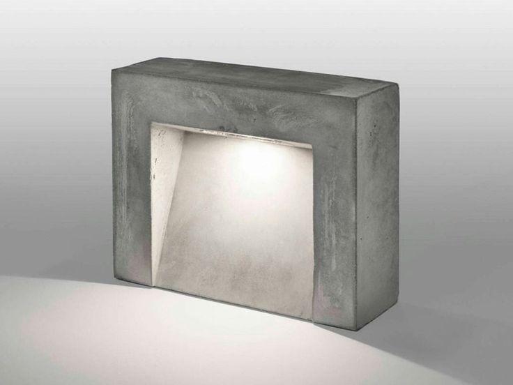 Lampada da terra in cemento CENTO3CENTO Collezione I-Cementi by LUCIFERO'S