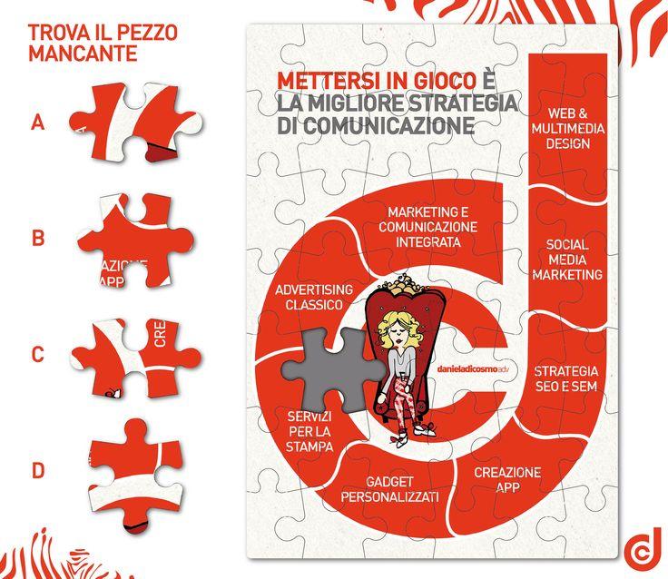GIOCA CON IL #PUZZLE BY DCC!  Trovate il pezzo mancante...