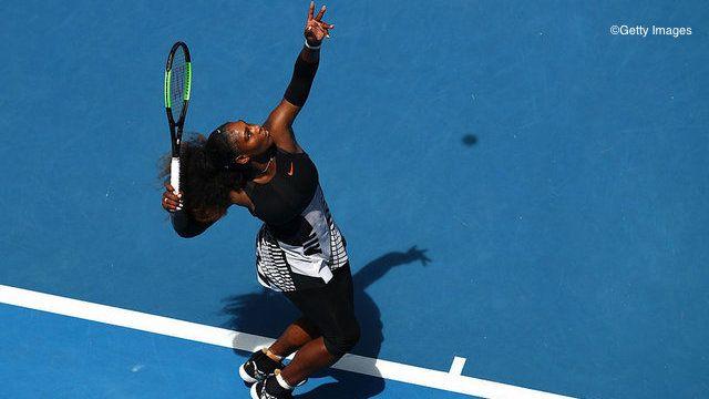 Serena Passes Strycova Test To Reach 10th Straight Slam QF