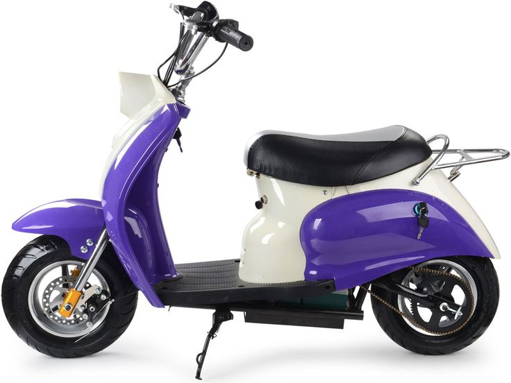 Quantity In Stock: The MotoTec 24v Electric Moped is the ultimate kids ride! Great for driveway and parking lot fun, cruise around cones and speed through trails with ease. Comes standard with front &