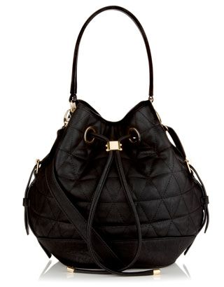Tori Quilted Bag | Black | Monsoon
