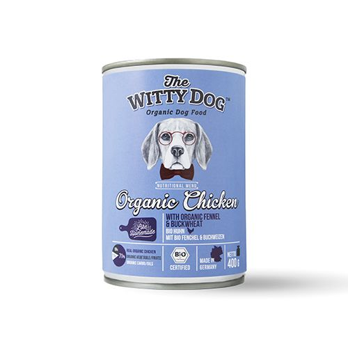 100% organic bio dog food