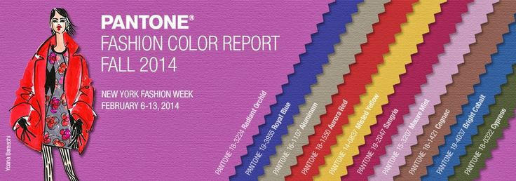 So All About That: Pantone Fall 2014 Colors