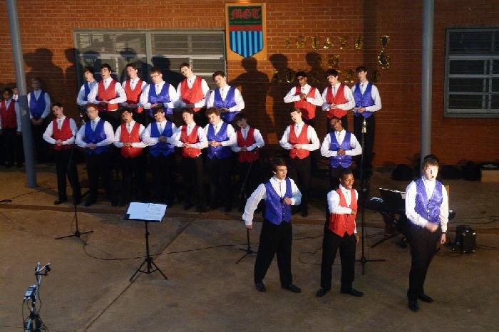 Texas Boys Choir performing in Argentina
