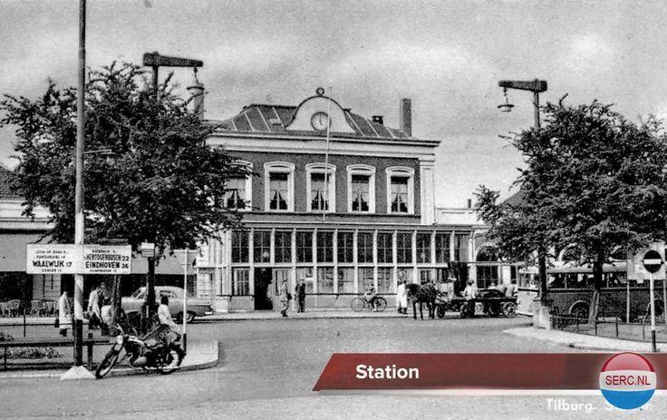 Tilburg: Het Station omstreeks 1963