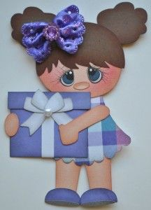 paper piecing birthday | Details about ELITE4U BIRTHDAY GIRLS paper piecing premade scrapbook ...