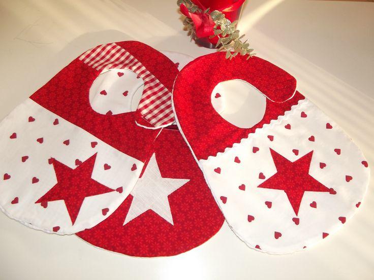 Bavaglini per Natale ilnastroapois.blogspot.it