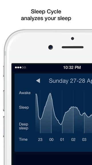 Sleep Cycle alarm clock Northcube AB 수면 기록