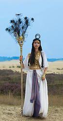 Egyptische Godin.