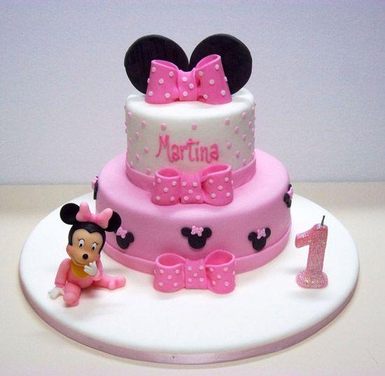 tortas para el primer año de la nena