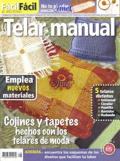 Solo Telar, Horquilla y Fieltro.: Revistas de Telar Manual