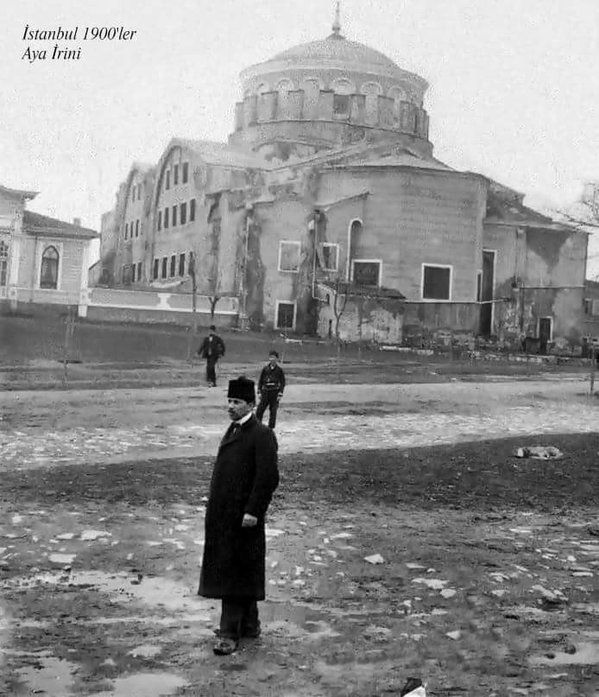 Aya İrini, 1900'ler Hagia Eirene Church.