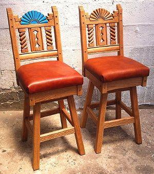 Southwestern bar stools