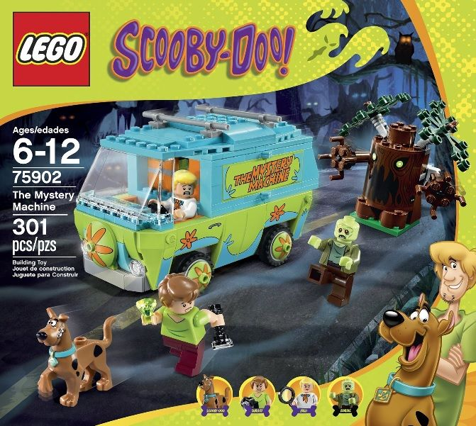LEGO 75902 the Mystery Machine---301 pieces