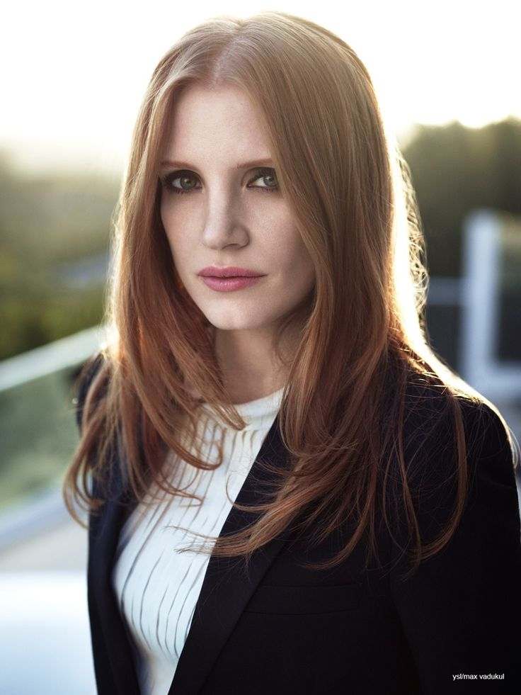 jessica chastain ysl photos 2014 4 Jessica Chastain Charms in Photo Shoot for YSL Manifesto LEclat Eau De Toilette