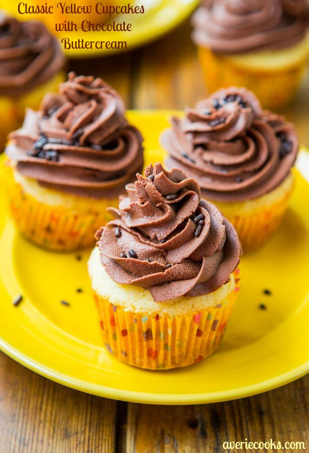 Cupcake Recipes Using Boxed Yellow Cake Mix