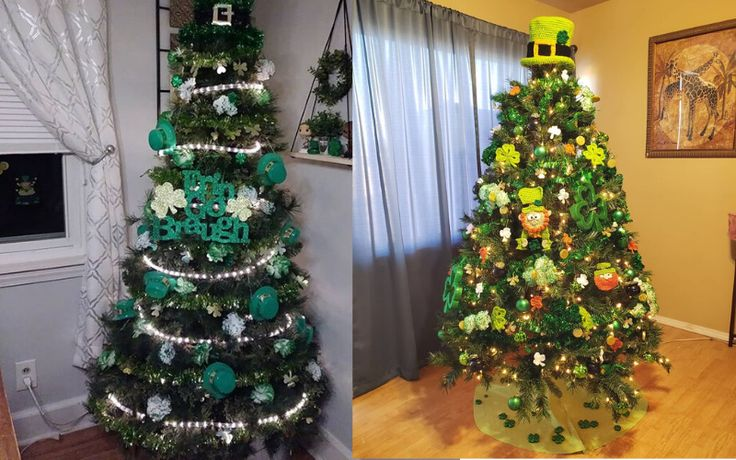 St. Patrick's Day trees are the latest trend in holiday