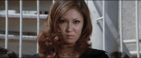 Miki Sugimoto & Reiko Ike in Girl Boss Guerilla (1972)