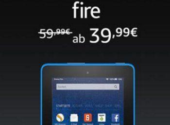 Cyber-Monday-Woche: Fire-Tablet für 39,99 Euro, Kindle Paperwhite für 79,99 Euro https://www.discountfan.de/artikel/tablets_und_handys/cyber-monday-woche-fire-tablet-fuer-39-99-euro.php Die Cyber-Monday-Woche von Amazon hat begonnen – und Amazon bietet die ganze Woche lang einen Rabatt von 20 Euro auf sein Fire-Tablet sowie 40 Euro auf den Kindle Paperwhite. Cyber-Monday-Woche: Fire-Tablet für 39,99 Euro, Kindle Paperwhite für 79,99 Euro (Bild: Amazon.de) Bei der