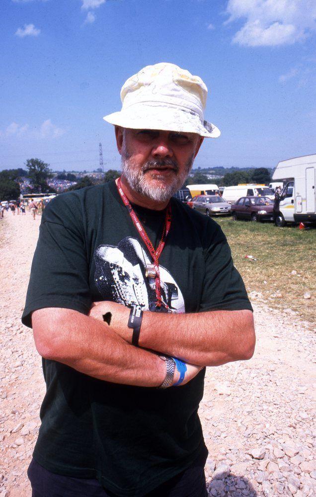John Peel at Glastonbury 1995