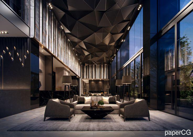Cachet Deluxe Bkk Design Hotel Lobby Design Lobby